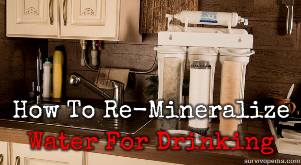 How To Re-Mineralize Water For Drinking