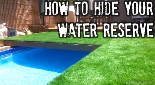 Hiding water