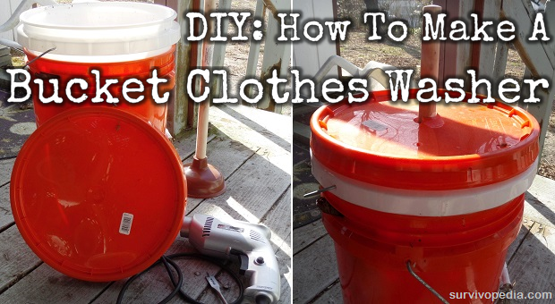 DIY Bucket Washer