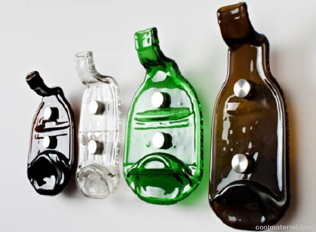 Cool ideas for using empty glass bottles for decorative purposes