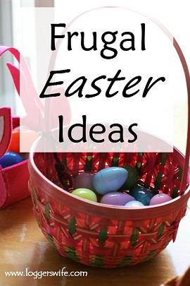 Frugal Easter ideas