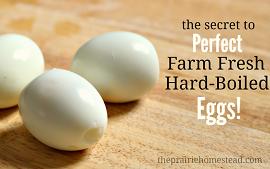 How to peel hard boiled eggs