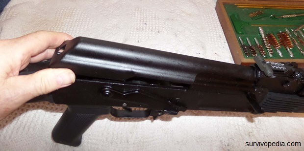 re-install the receiver cover