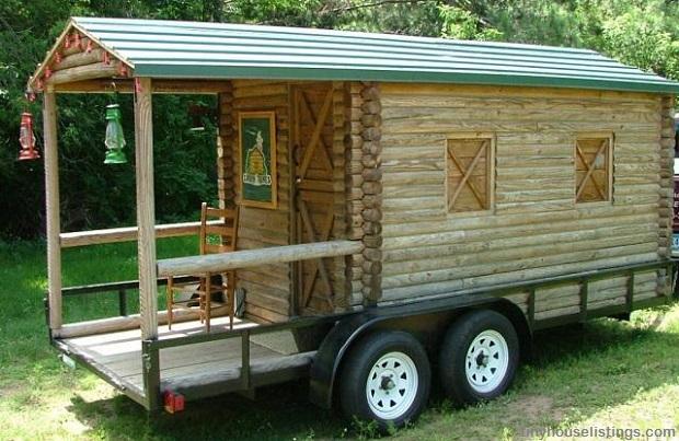 Log Cabin Food Truck