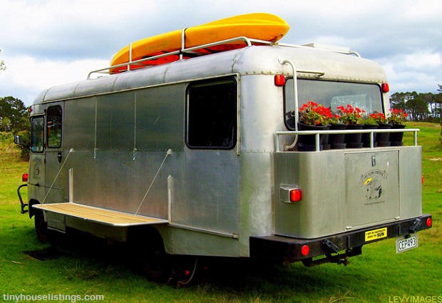 The Flying Tortoise: An Off the Grid Bus on Steroids