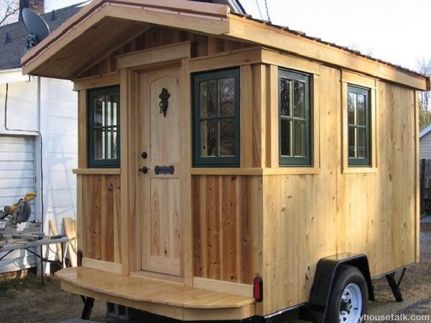 on wheels is the new off grid a guide to tiny houses