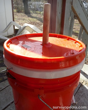 bucket washer