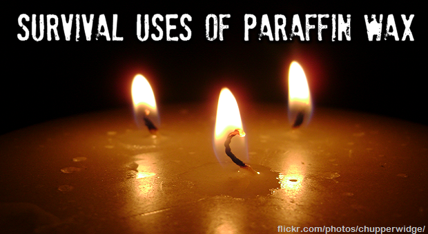 Survival uses of paraffin wax
