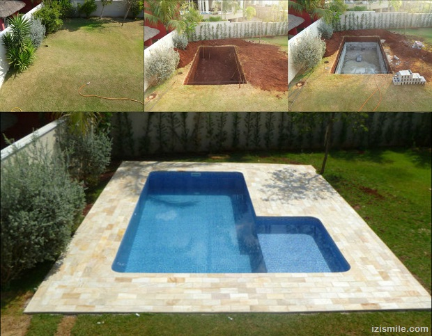 Diy projects 15 ideas for using cinder blocks survivopedia - Cinder block swimming pool construction ...