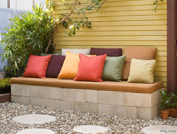 concrete block furniture ideas. exellent concrete cinder block bench on concrete furniture ideas d
