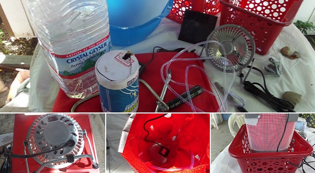 DIY Project: Off Grid Air Conditioner