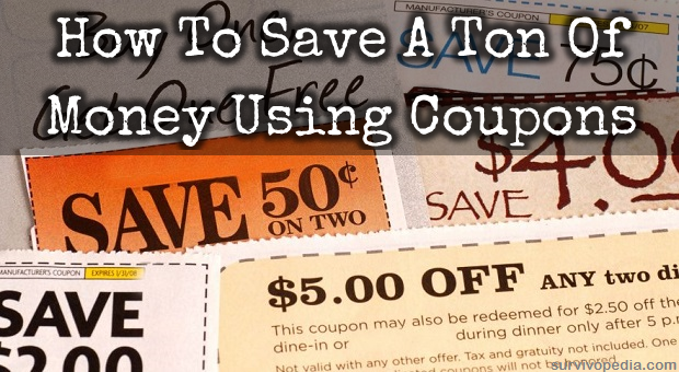 How to save a ton of money using coupons survival skills survival