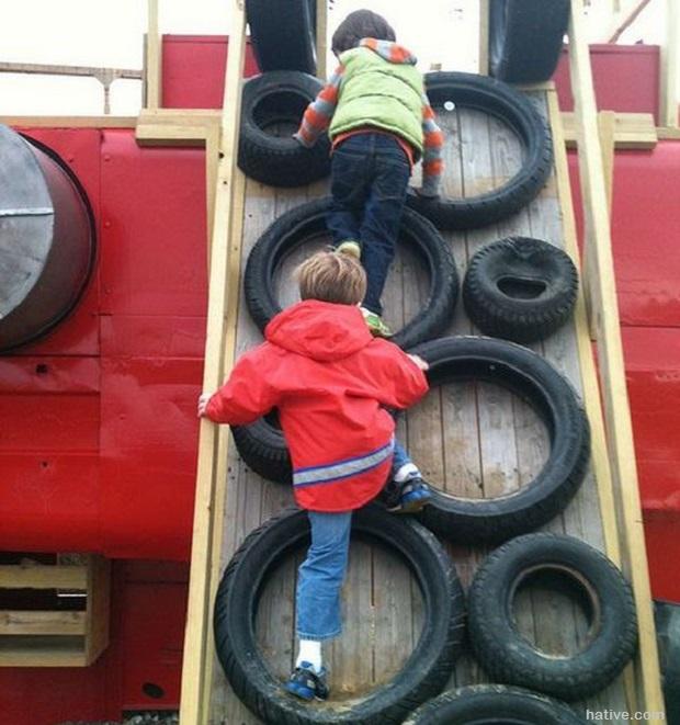 tire climbing