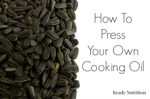 press cooking oil