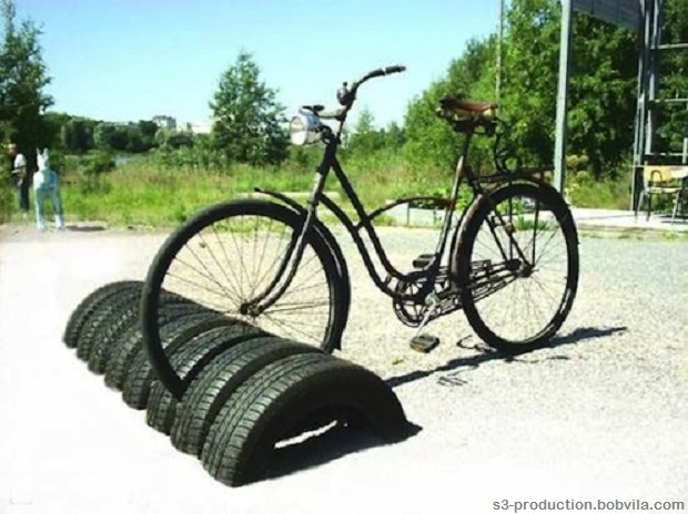 Tires support