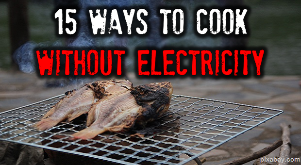 Cook without electricity