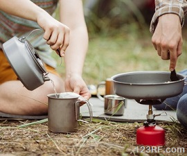 off grid food