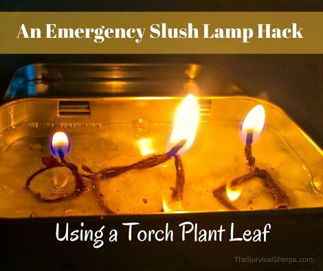 Slush lamp