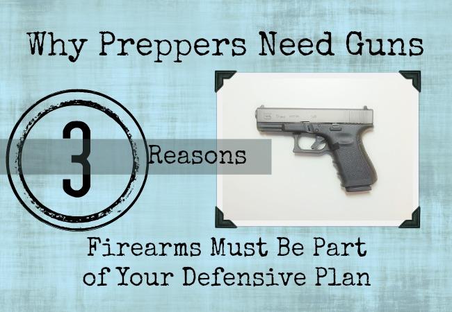 prepper guns