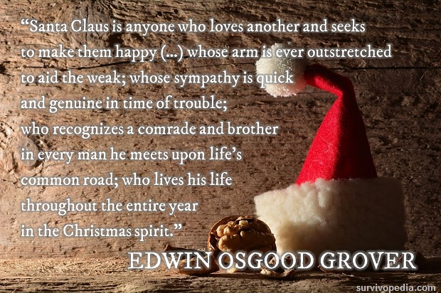 Survivopedia Santa Claus Quote