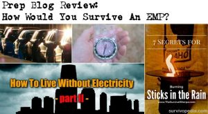 Prep Blog Review: How Would You Survive An EMP?