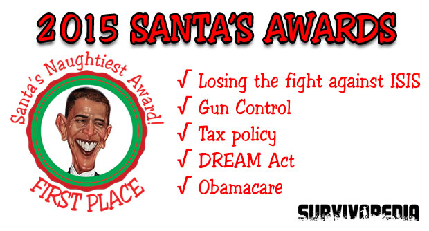 Obama on Santa s Naughty List - SURVIVOPEDIA