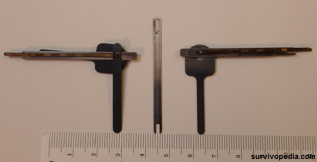 Standard vs Split Pawl vs Thin Hand Cuff Shim