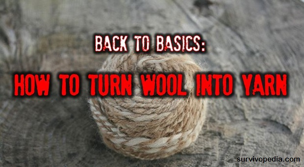 SURVIVOPEDIA WOOL INTO YARN