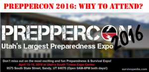 PrepperCon 2016: Why To Attend?