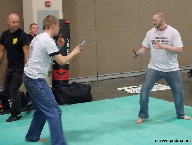 Knife Fighting Competition