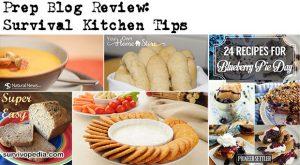 Prep Blog Review: Survival Kitchen Tips