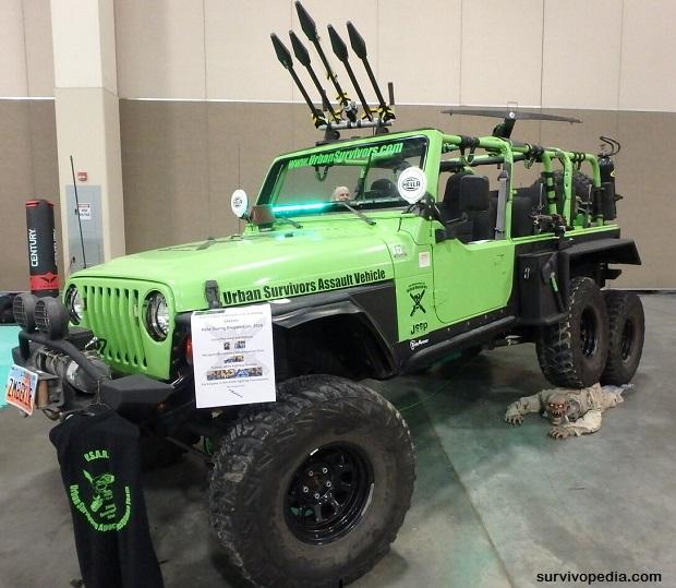 UrbanSurvivors Assault Vehicle