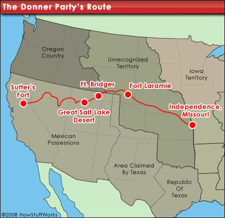 donner map