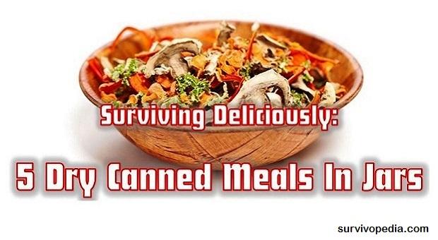 Survivopedia 5 meals in jars
