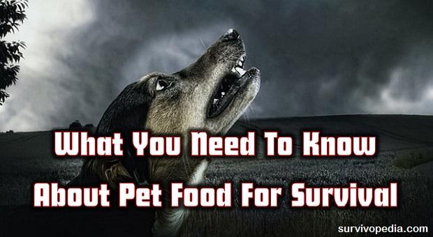Survivopedia Pet food
