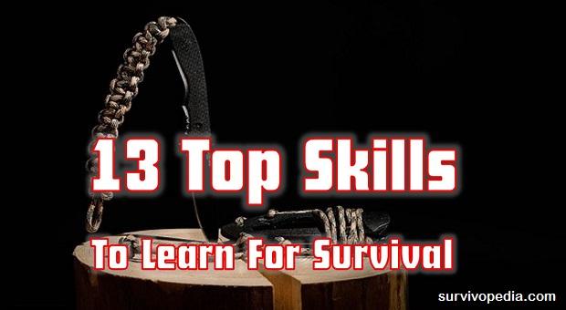 Survivopedia top survival skills