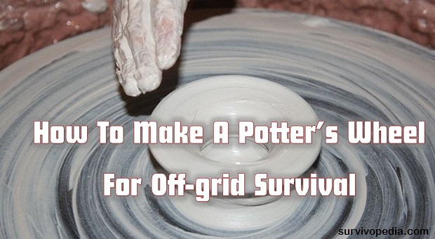 Survivopedia make pottery wheel