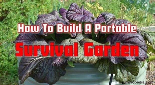 survivopedia portable garden