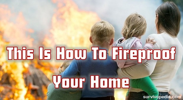 Survivopedia how to fireproof your home