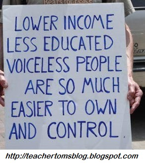 lower income