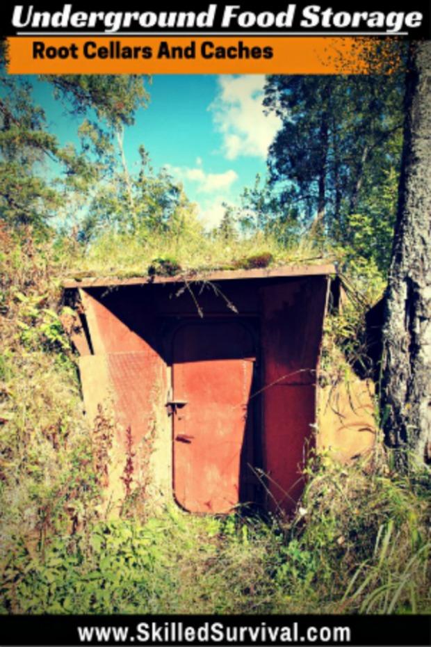 Underground-Food-Storage