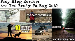 Prep Blog Review: Are You Ready To Bug Out?
