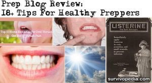 Prep Blog Review: 18+ Tips For Healthy Preppers