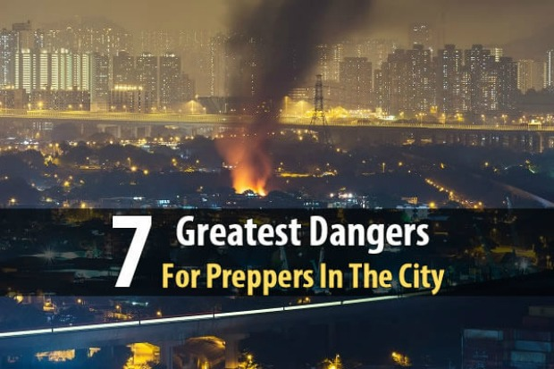 Dangers for urban preppers