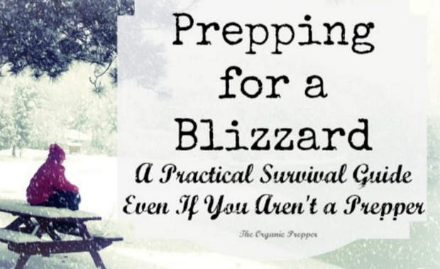 Prepping For A Blizzard