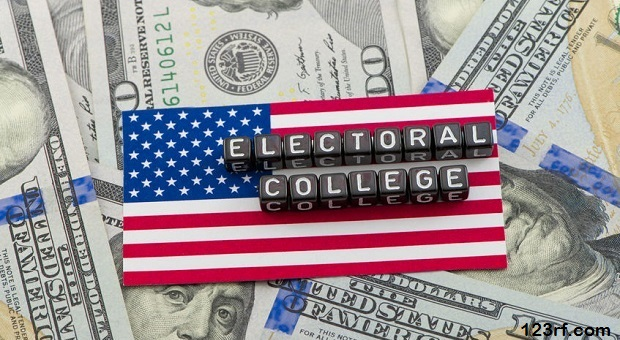 67143324 - the vote of the electoral college in the united states