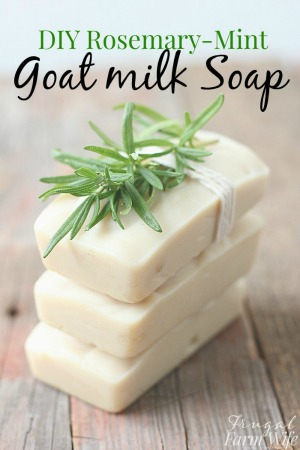 homemade-rosemary-mint-goat-milk-soap-recipe