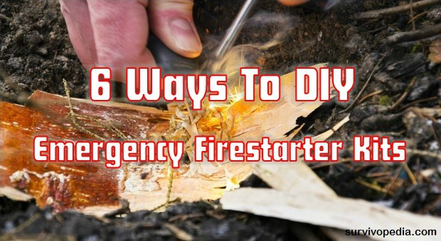 Survivopedia ^ Ways To DIY Emergency Firestarte kits