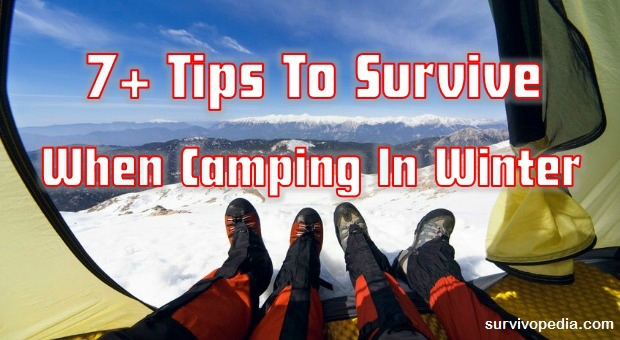 Survive When Camping In Winter