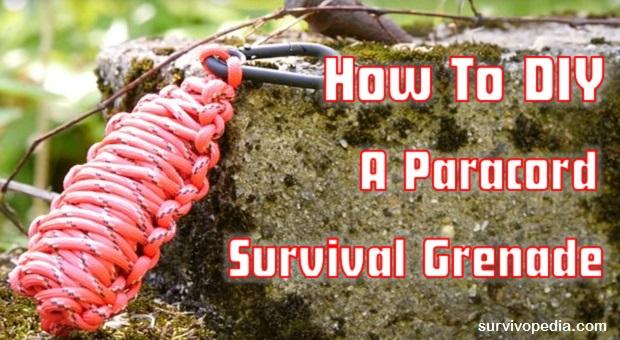 DIY Paracord Grenade